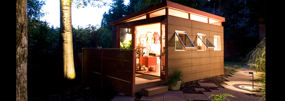 Home Office Portland Or | Modern Shed Home Office Solutions
